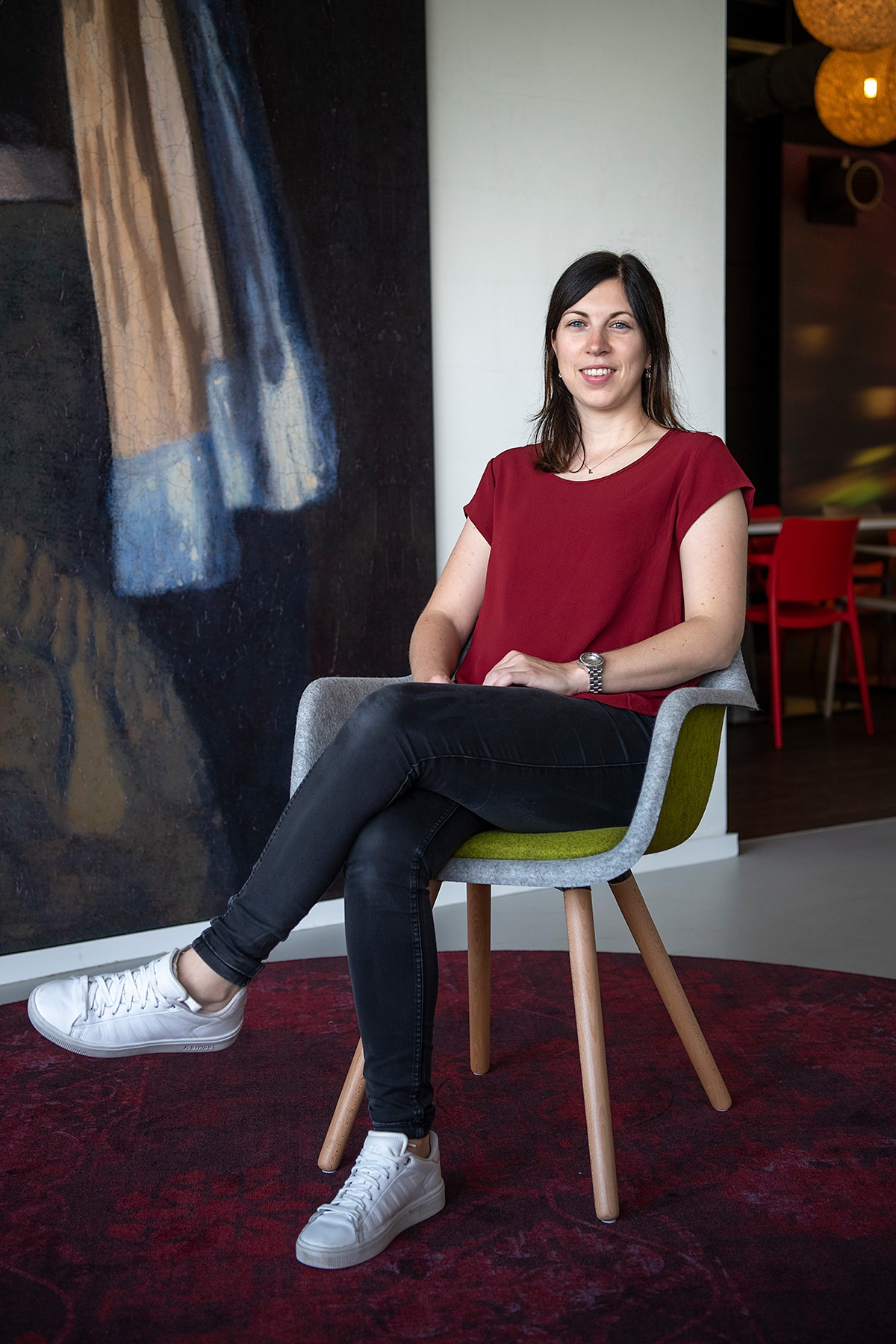 CEKA Nederland medewerker Lisa van der Aart